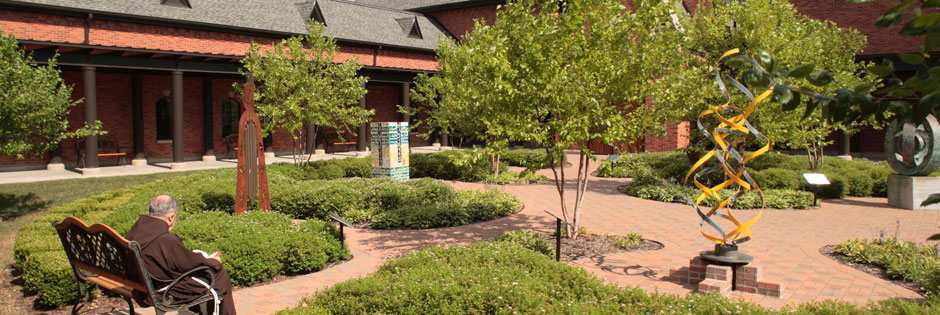 Creation Garden at the Solanus Casey Center in summer