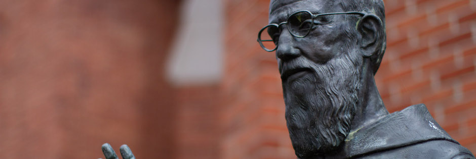 Statue of Blessed Solanus Casey