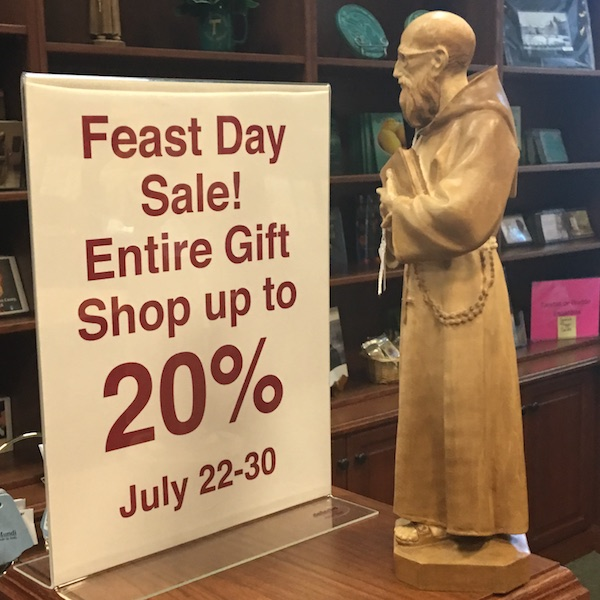 Feast Day Sale